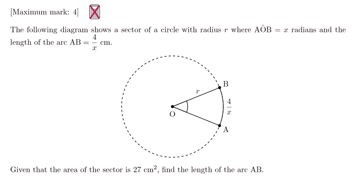 IB Maths HL Exam Question - Circular Functions & Trigonometry