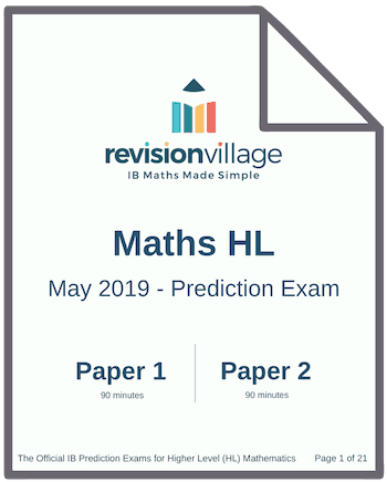 Mathematics Standard Level Paper 1 May 2017 - Tips and Tricks About