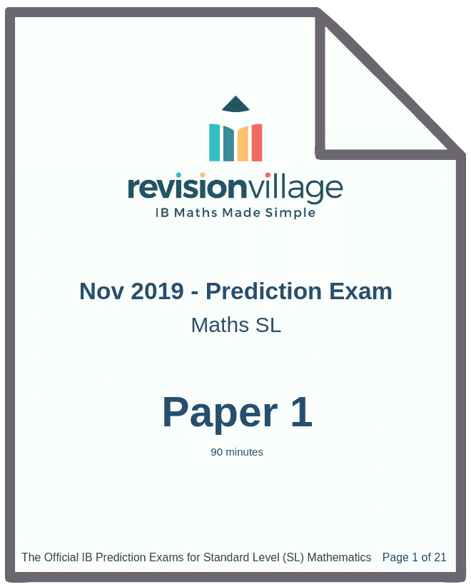Nov 2019 Prediction Exam [RELEASED]